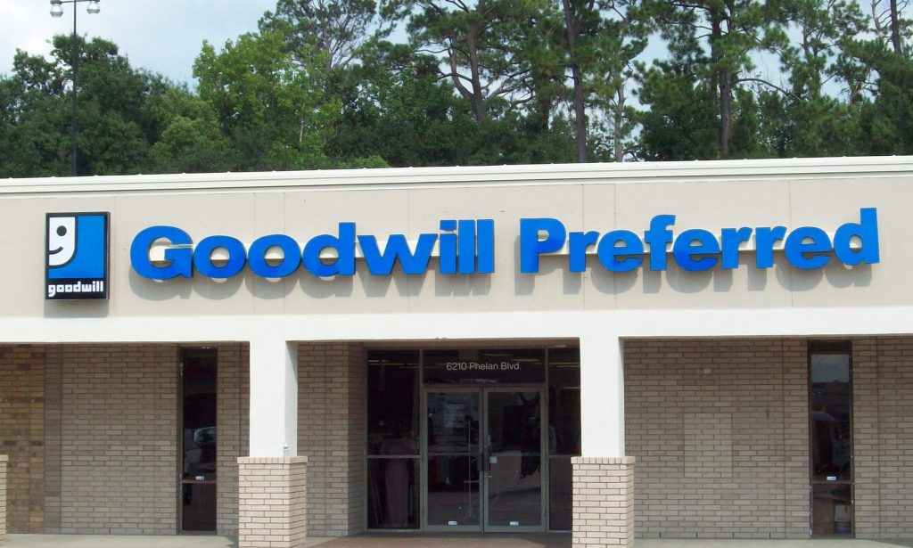 Goodwill Preferred - Channel Letters & Logo