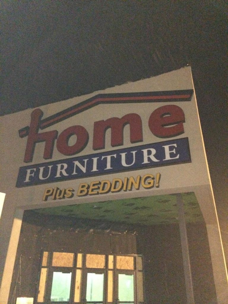 Home-Furniture Channel Letter