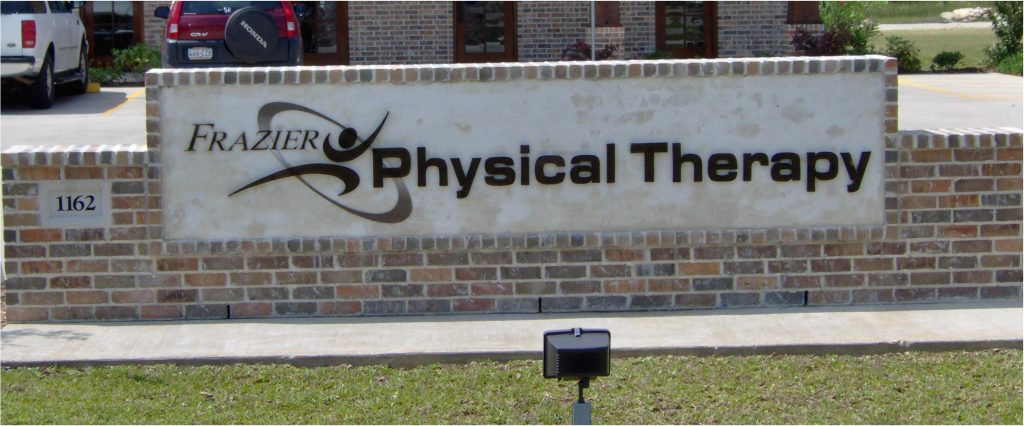 Frazier Physical Therapy - Monument Sign