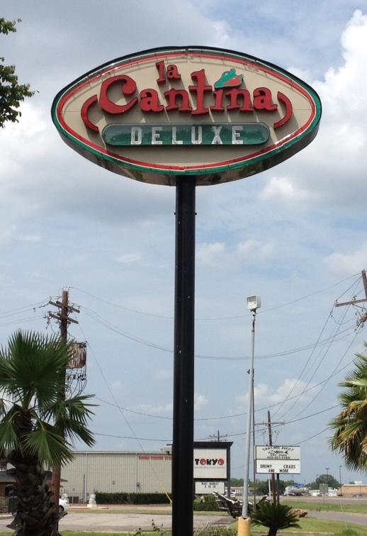 La Cantina - Pole Sign