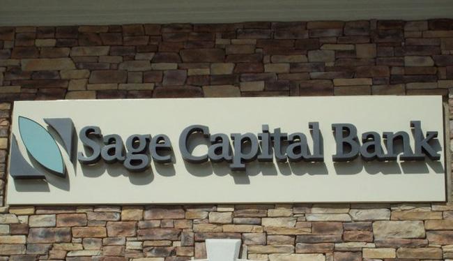 Sage Capital Park- Reverse Channel Letters & Logo