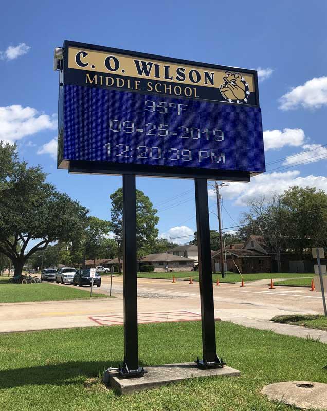 C. O. Wilson Middle School, Nederland, TX