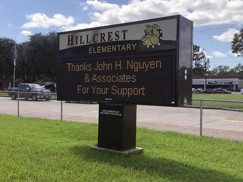 Hillcrest Elementary - Nederland, TX
