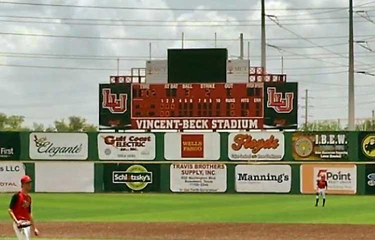 Vincent Beck Stadium at Lamar University - Beaumont, TX